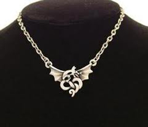 Renaissance Dragon Necklace: J005