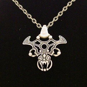 Gothic Dragon Necklace: J007