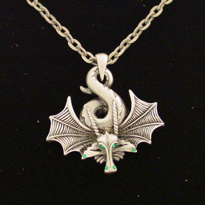 Sleeping Dragon Necklace: J013