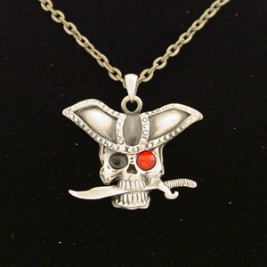 Pirate with Blade Necklace: J014