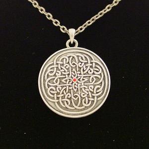 Celtic Flower Necklace: J016