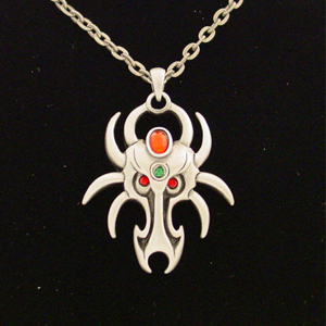Spider Dragon Necklace: J022