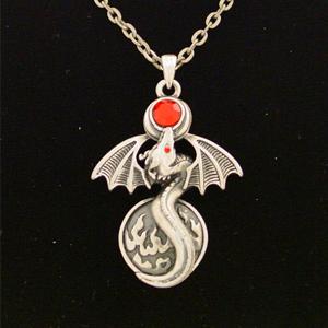 Alchemy Dragon Necklace: J024