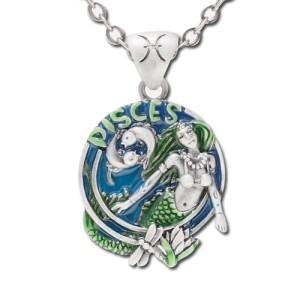 Pisces Pendant Necklace: 152