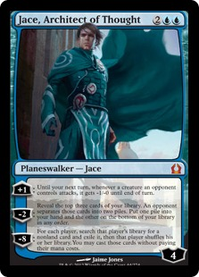 Jace, Architect of Thought (FOIL) - Used