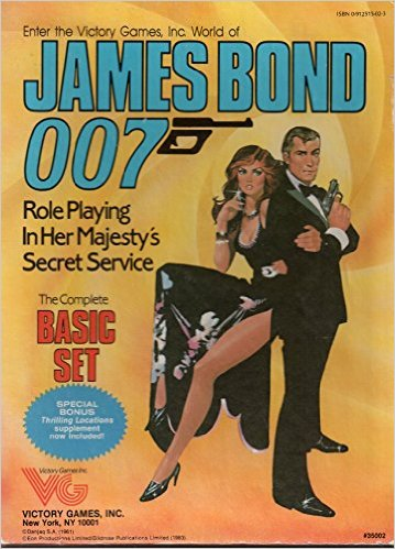James Bond 007 Role Playing Basic Box Set - Used
