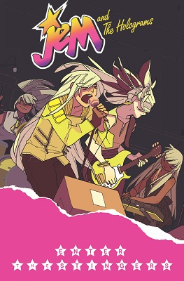 Jem and the Holograms: Volume 4: Enter the Stingers TP