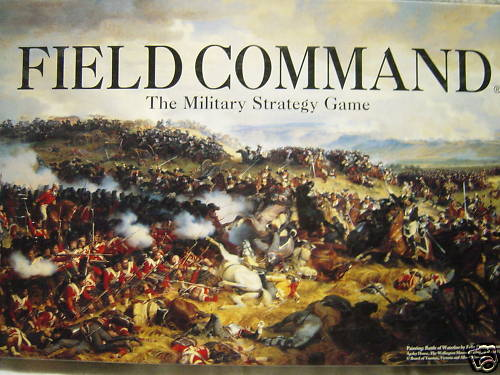 Field Command the Military Strategy Game - Used