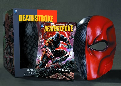 Deathstroke: Book and Mask Set