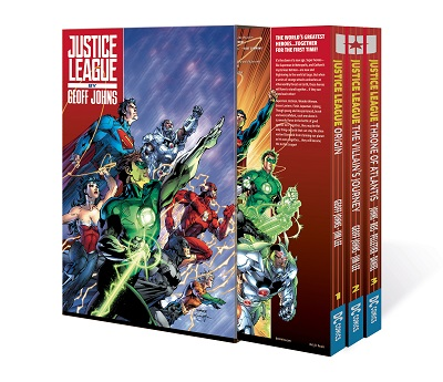 Justice League by Geoff Johns: Box Set: Volume 1