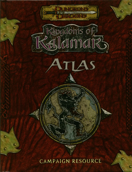 Dungeons and Dragons 3rd ed: Kingdoms of Kalamar