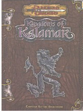 Dungeons and Dragons 3.5 ed: Kingdoms of Kalamak: Campaign Setting Sourcebook - Used