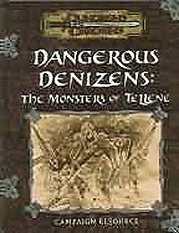 Dungeons and Dragons: Kingdoms of Kalamar: Dangerous Denizens: The Monsters of Tellene - Used