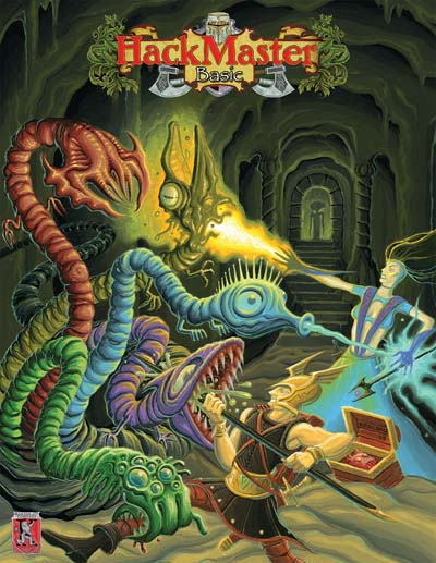 Hack Master: Basic Role Playing - USED