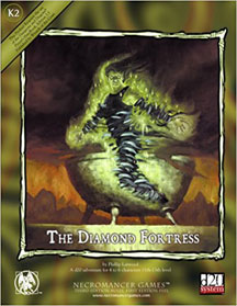 D20: The Diamond Fortress - USED