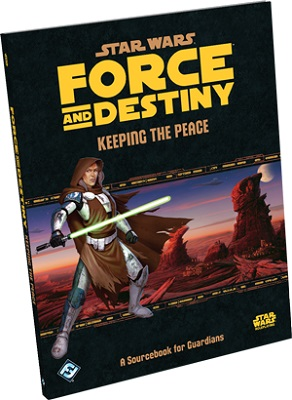Star Wars: Force and Destiny: Keeping the Peace - Used