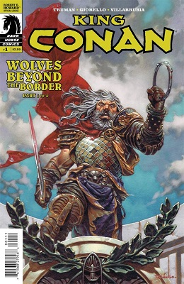 King Conan: Wolves Beyond the Border (2015) Complete Bundle - Used