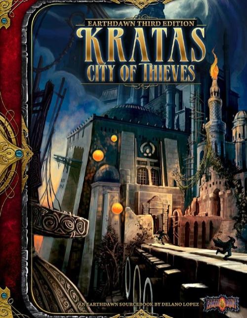 Earthdawrn 3rd Ed: Kratas City of Thieves - Used