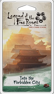 Legend of the Five Rings LCG: Into the Forbidden City Dynasty Pack
