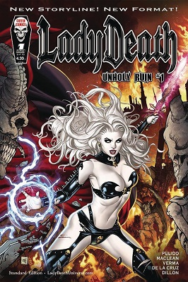 Lady Death: Unholy Ruin no. 1 (2018 Series) (MR)