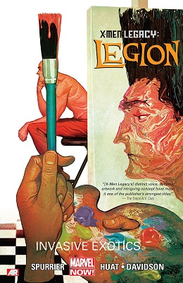 Legion: Son of X: Volume 2: Invasive Exotics TP