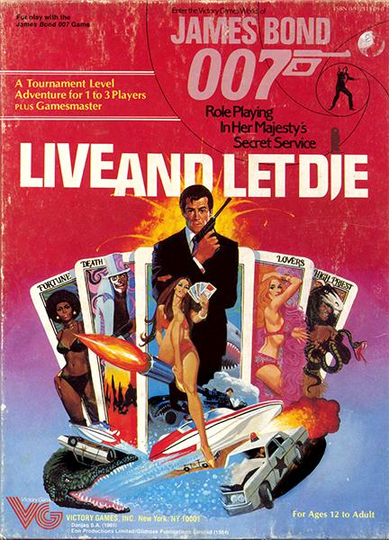 James Bond 007 RPG: Live and Let Die Box Set - Used