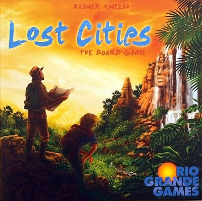 Lost Cities: The Board Game - Thames and Kosmos