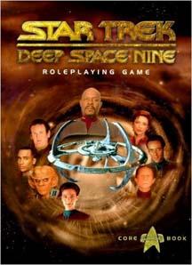 Star Trek: Deep Space Nine Role Playing Core Rule HC - Used