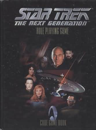 Star Trek RPG: the Next Generation Core Rules HC: LUG25000 - Used