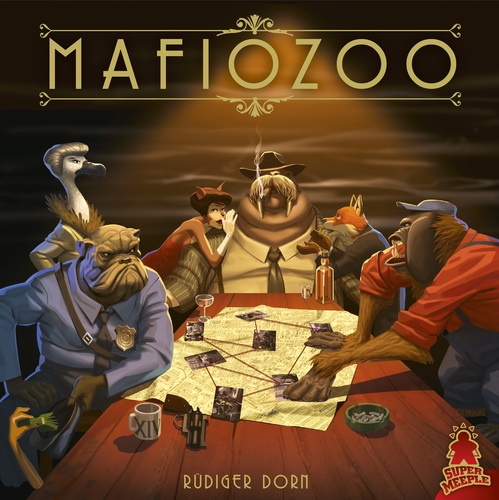 Mafiozoo Board Game