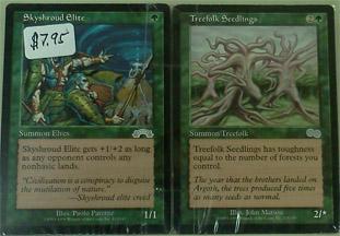 Magic Card Bundle (Blue/Black/Green/White) - Used