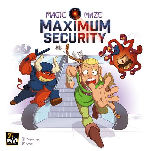 Magic Maze: Maximum Security Expansion