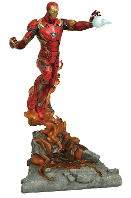 Marvel Milestones: Civil War Movie: Iron Man Statue