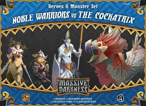 Massive Darkness: Noble Warriors vs The Cockatrix