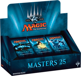 Magic the Gathering: Masters 25 Booster Box (24 packs)