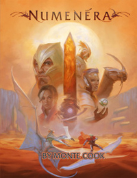 Numenera Core Rules Book - Hardcover
