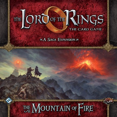 The Lord of the Rings the Card Game: The Mountain of Fire Adventure Pack