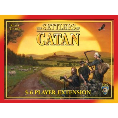 The Settlers of Catan: 5-6 Player Extension: 3062