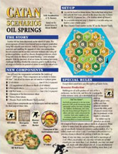 Settlers of Catan Scenarios: Oil Springs