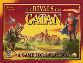 The Settlers of Catan: The Rivals For Catan: 3131 - USED - By Seller No: 14789 James Melby
