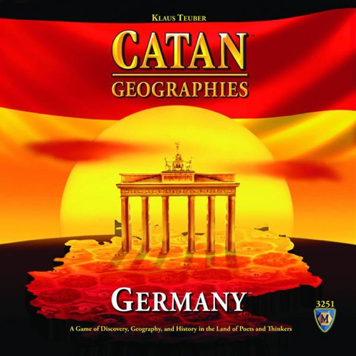 Settlers of Catan: Geographies: Germany Board Game