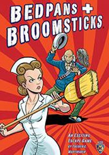 Bedpans and Broomsticks Board Game