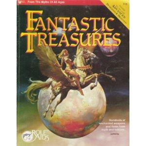 Role Aids: Fantastic Treasures - Used