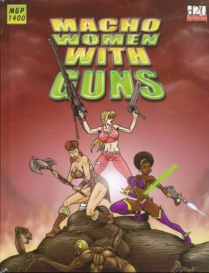 D20: Macho Women With Guns - Used