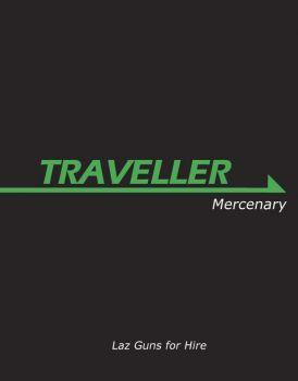 Traveller: Book 1: Mercenary - Used