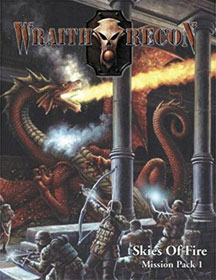 Wraith Recon Role Playing: Mission Pack 1: Skies of Fire - Used