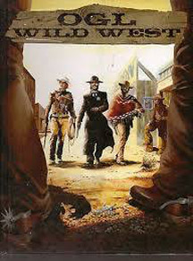 OGL Wild West Role Playing Hard Cover - Used