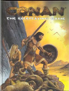 Conan the Roleplaying Game 1st Ed: Core Rulebook - Used