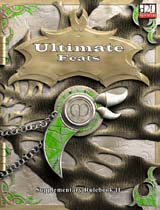 D20: Ultimate Feats: Supplementary Rulebook II - Used