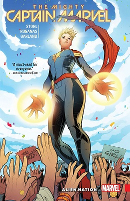 Mighty Captain Marvel: Volume 1: Alien Nation TP
